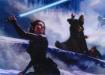 Daisy Ridley e Cavaliere Oscuro