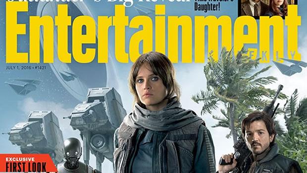 Scopriamo tante novità sui personaggi di Rogue One: A Star Wars Story, grazie allo speciale inedito di Entertainment Weekly.