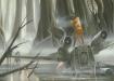 Dagobah e l'X-Wing