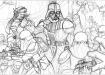 Sketching Darth Vader