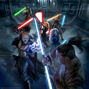 Bane & Zannah vs Jedi