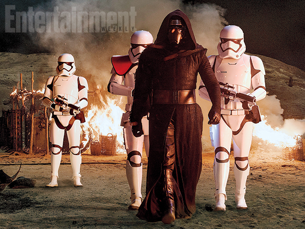 Kylo Ren e il First Order seminano distruzione.