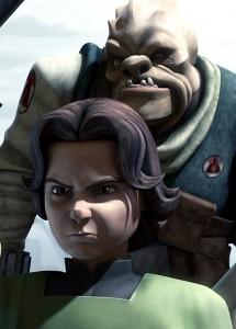 Il giovane Boba Fett in The Clone Wars